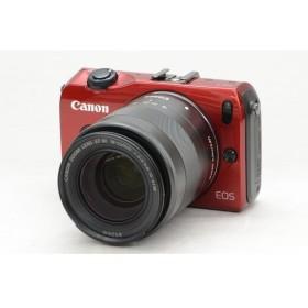 [中古] ミラーレスカメラ EOS M EF-M18-55 IS STM レンズキット レッド 6612B026