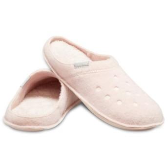 【クロックス公式】 クラシック スリッパ Classic Slipper ユニセックス、メンズ、レディース、男女兼用 ピンク/ピンク 22cm,26cm slipper