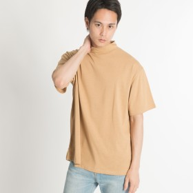 Tシャツ - WEGO【MEN】 USAコットンモックネックT(S) BR18AU07-M004