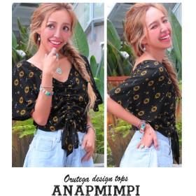 【セール開催中】ANAP(アナップ)オルテガ柄デザイントップス