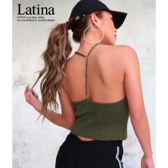 ANAP Latina チェーンバックアメスリトップス