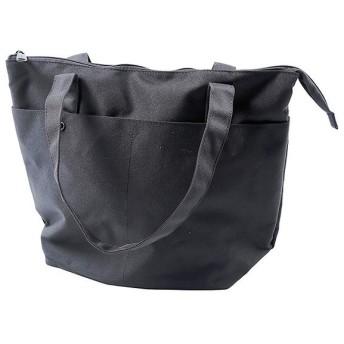 アネロ CSミニポーチ付 10ポケット トートバッグ 15L (AT-S0113) : ブラック anello