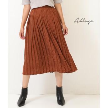 【セール開催中】ANAP(アナップ)ドットプリントプリーツスカート