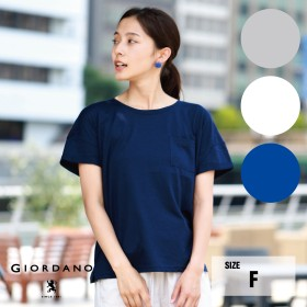カットソー - GIORDANO ポケット付Tシャツ