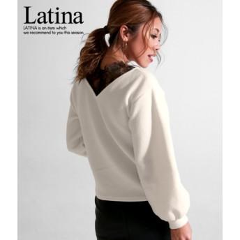 anap Latina アナップラティーナ ふわニットスカラレーストップス