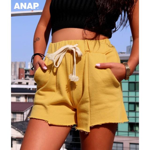 【セール開催中】ANAP(アナップ)スウェットカットオフショートパンツ