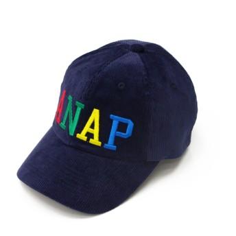 【セール開催中】ANAP KIDS(キッズ)カラフル刺繍ロゴコーデュロイキャップ