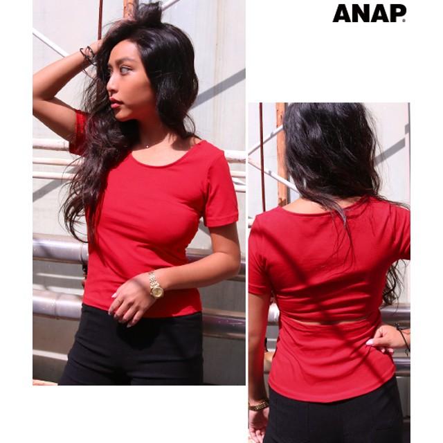 【セール開催中】ANAP(アナップ)バックオープンTシャツ