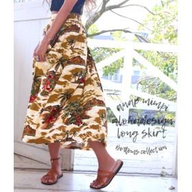 【セール開催中】ANAP(アナップ)リゾートプリントフレアスカート