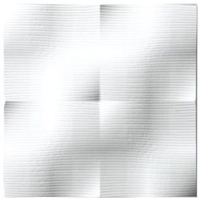 ユーパワー プラデック ウォール アート ラフ(ホワイト) PL-05825