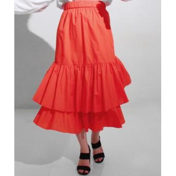 【セール開催中】ANAP(アナップ)タイプライターティアードスカート
