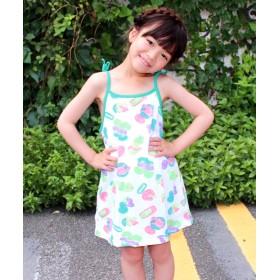 【セール開催中】ANAP KIDS(キッズ)ネオン総柄キャミワンピース