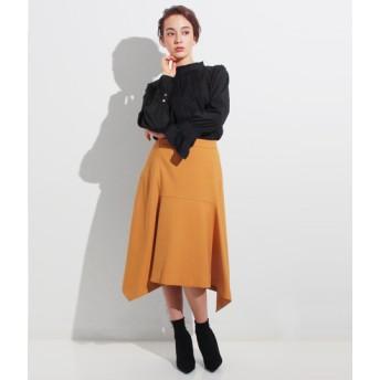 【セール開催中】ANAP(アナップ)ウールタッチフロント切替スカート