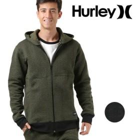 SALE セール メンズ アウター ジャケット Hurley ハーレー AJ2225 ジップアップ パーカー ジップパーカー 軽量 軽い ウェア ニット フリース 春 冬 秋 FF3 H21
