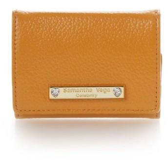 【50%OFF】 サマンサベガ ハートストーンミニ財布 レディース オレンジ FREE 【Samantha Vega】 【セール開催中】