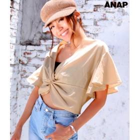 【セール開催中】ANAP(アナップ)フロントツイストトップス