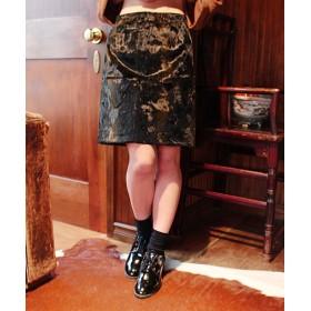 【セール開催中】ANAP(アナップ)ウエストパイピングハラコタッチスカート