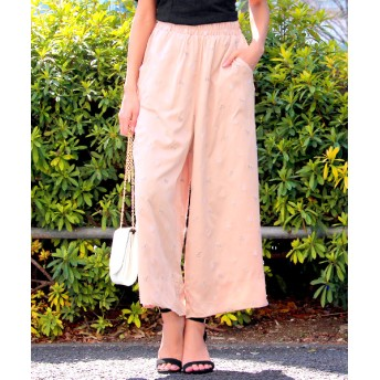 【セール開催中】ANAP(アナップ)ヴィンテージサテン刺繍パンツ