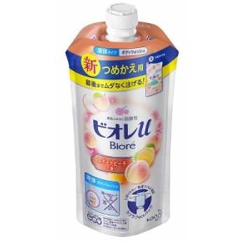 ビオレu スイートピーチの香り つめかえ用 480ml 【化粧品】