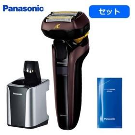 【セット】パナソニック メンズシェーバー ラムダッシュ 5枚刃 ES-LV7D-T +洗浄充電器専用洗浄剤 ES-4L03 ES-LV7D-T-ES-4L03