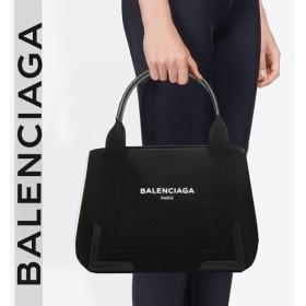 バレンシアガ BALENCIAGA  CABAS カバ 使い勝手の良い人気のSサイズ キャンバス生地 ブラック/BLACK 3399339DH1N1090