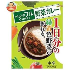【送料無料】 ハチ食品  ベジタフル  野菜カレー 中辛  200g×20(5×4)箱入