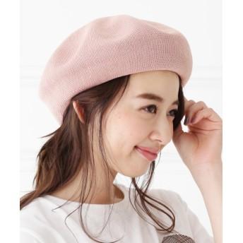ベレー帽 - SHOO・LA・RUE ラメ入りベレー帽