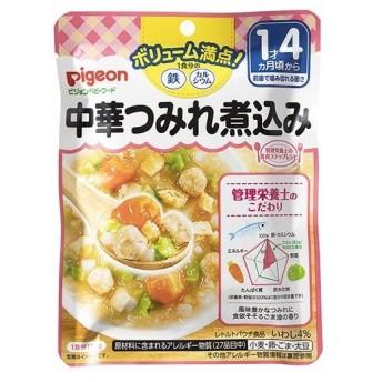 ピジョンベビーフード 1食分の鉄Ca 中華つみれ煮込み ( 120g )/ 食育レシピ