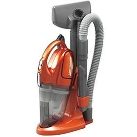 ツインバード コードレスハンディークリーナー サットリーナサイクロンGXR ガーネットオレンジ HC-5235OR
