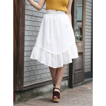 dazzlin コルセット付フレアスカート