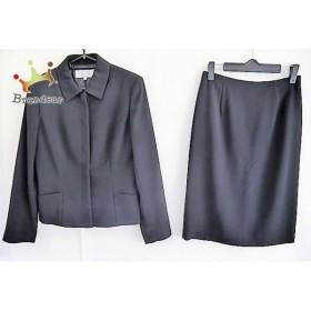 ヴァンドゥ オクトーブル 22OCTOBRE スカートスーツ サイズ38 M レディース 美品 黒           スペシャル特価 20190603