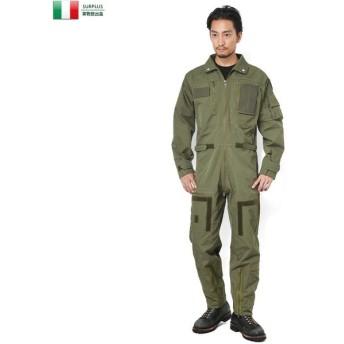 セール25%OFF!実物 新品 イタリア軍 ノーメックス フライトカバーオール(つなぎ) メンズ ミリタリー オールインワン デッドストック パンツ 作業服 放出品