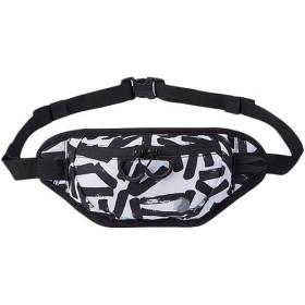 アシックス(asics) ランニングウエストポーチM Bホワイト 3013A077 103 ジョギング バッグ 鞄