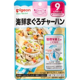 ピジョンベビーフード 食育レシピ 海鮮まぐろチャーハン (80g)
