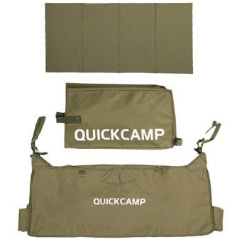 クイックキャンプ (QUICKCAMP) ワイドホイール アウトドアワゴン スペアカバー 3点セット カーキ QC-CW90_spare 折りたたみ キャリーカート キャリーワゴン用