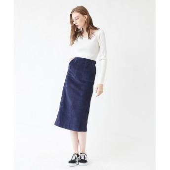 その他スカート - titivate コーデュロイタイトロングスカート/コーデュロイ素材が季節感を演出するスカート/ボトムス/レディース/スカート/タイトスカート/コーデュロイ/ポケット