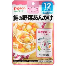 ピジョンベビーフード 食育レシピ 鮭の野菜あんかけ (80g)