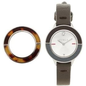 【送料無料】フルラ 時計 FURLA R4251109520 CLUB クラブ 26mm 替えベゼル付き レディース腕時計ウォッチ シルバー/ブラウン