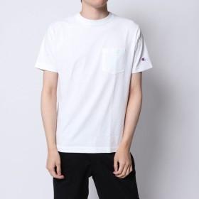 イーブス サプライ YEVS supply Chanmpion 半袖ポケ付T (ホワイト)