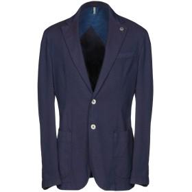 《期間限定セール開催中!》DOMENICO TAGLIENTE メンズ テーラードジャケット ブルー 48 コットン 90% / ポリエステル 7% / ポリウレタン 3%