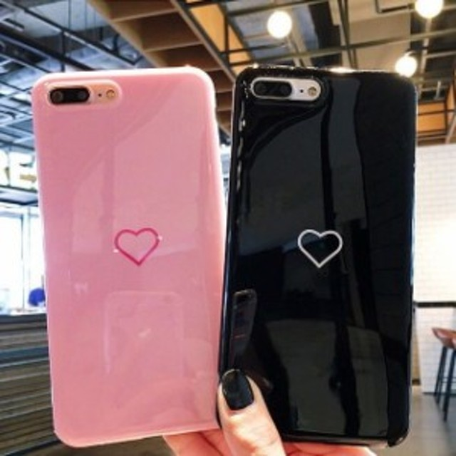 f42ae3afe5 送料0☆可愛い シンプル ミラー ハート iPhone 6 iPhone7 iPhone7ケース iPhone8 ケース iPhone x