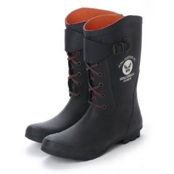 アルファ インダストリーズ ALPHA INDUSTRIES Long Rain Boots (ブラック)