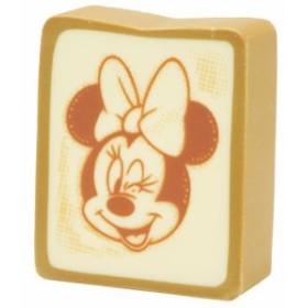 ミニーマウス 消しゴム トースト ケシゴム 食パンシリーズ ディズニー キャラクターグッズ メール便可