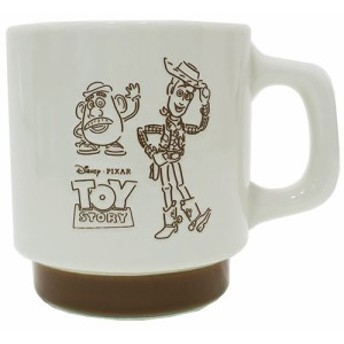トイストーリー マグカップ スケッチマグ ウッディ&ポテトヘッド ディズニー キャラクター グッズ