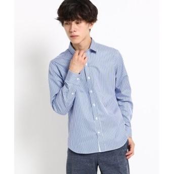 【20%OFF】 デッサン トーマスメイソンストライプシャツ メンズ ネイビー(693) 03(L) 【Dessin】 【セール開催中】
