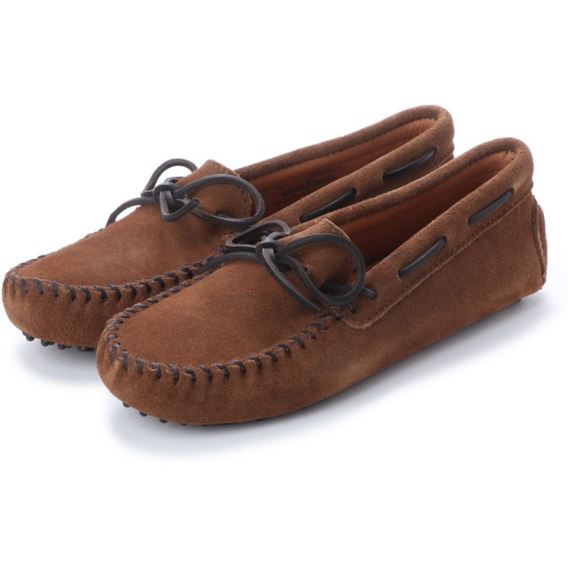 ミネトンカ Minnetonka Driving Moccasin Shoes (ブラウン)