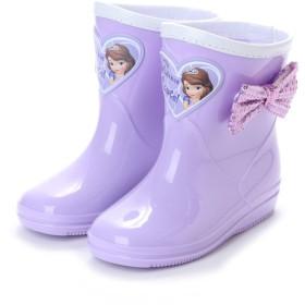 ディズニー Disney ジュニア レインシューズ ちいさなプリンセス ソフィア 長靴 7328 640350105 8065 ミフト mift