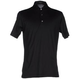 《セール開催中》DRUMOHR メンズ ポロシャツ ブラック XXS コットン 100%