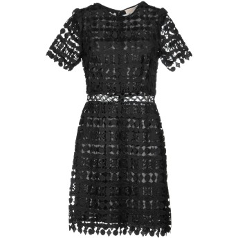 《セール開催中》MICHAEL MICHAEL KORS レディース ミニワンピース&ドレス ブラック 2 100% ポリエステル