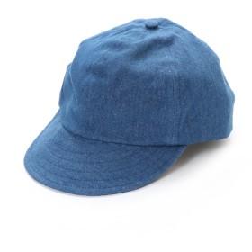 イーブス サプライ YEVS supply デニムショートバイザー (ブルー)